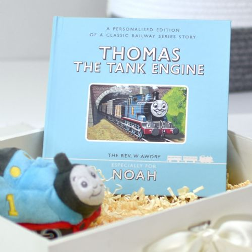 Thomas the Tank Engine Personalised Book and Plush Toy Giftset